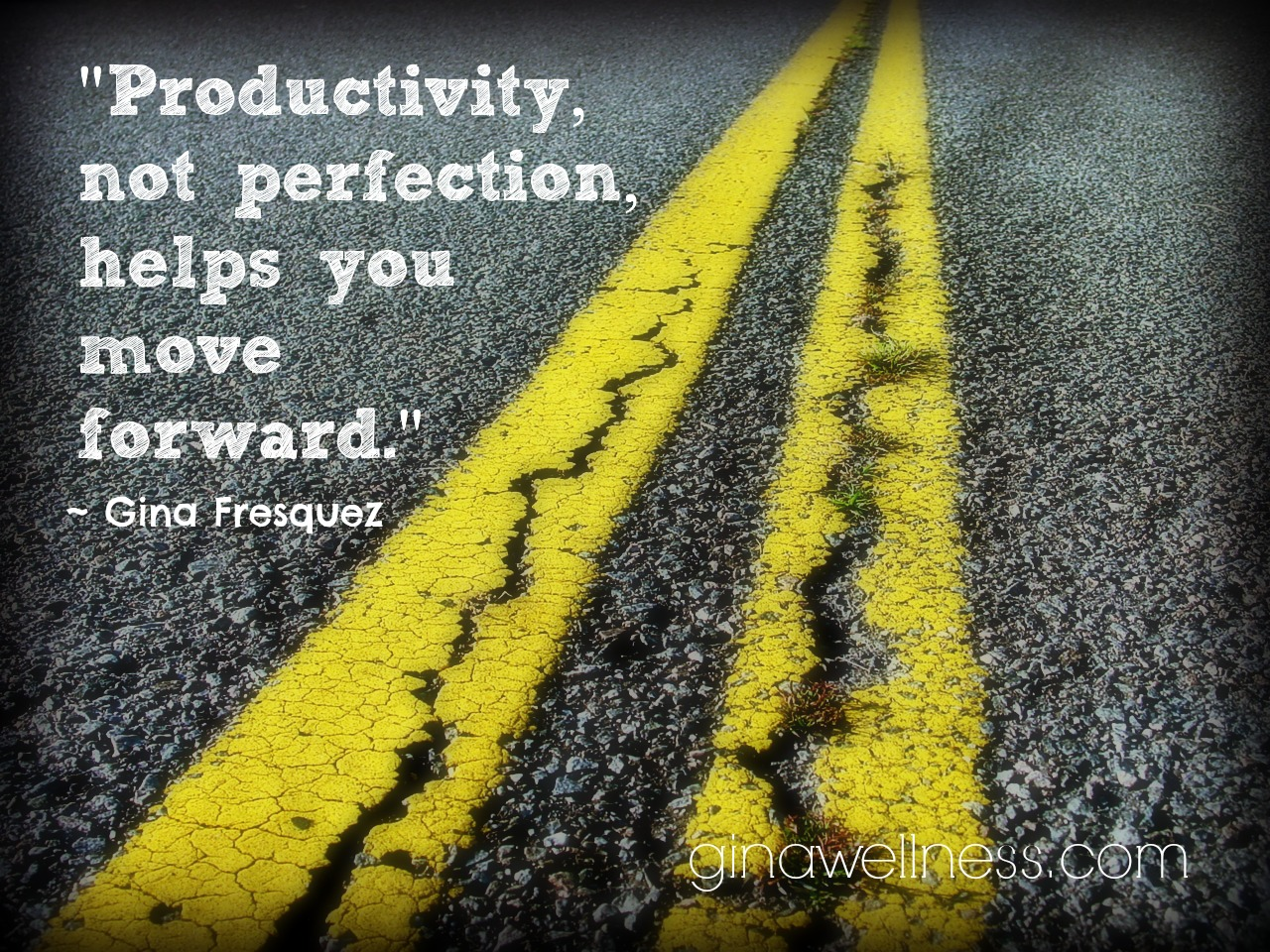 Productivity vs. Perfection