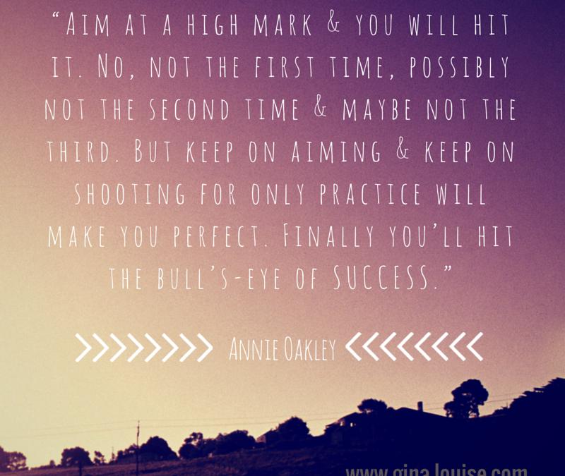 Aim High.